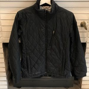 Columbia Quilted Jacket with Fleece Interior